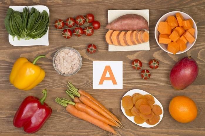Вітамін А. Споживання вітаміну А