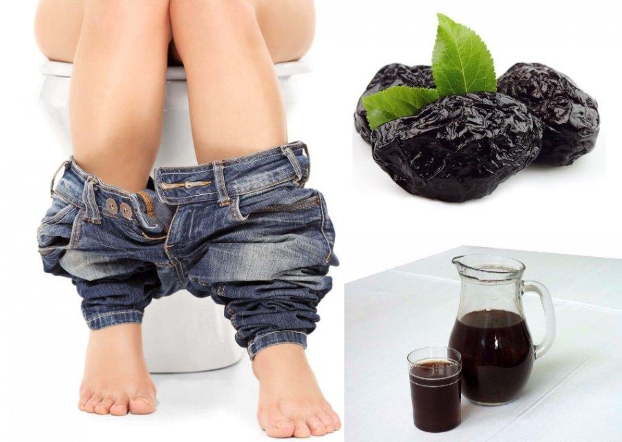 Дієта при запорах, проносні продукти (чорнослив, буряк)